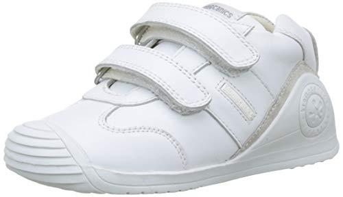 Biomecanics 151157, Zapatos de primeros pasos Unisex Bebés, Blanco (Sauvage), 20 EU