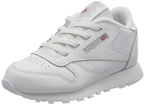 Reebok Classic Leather, Sneaker Unisex bebé, Ftwwht, 25 EU