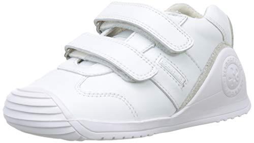 Biomecanics 151157-2, Zapatillas de Estar por casa Unisex niños, Blanco (Blanco (Sauvage) Colores),...