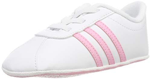 adidas VL Court 2.0 Crib, Zapatillas de Estar por casa Unisex niños, Multicolor...