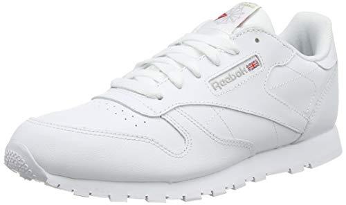 Reebok Classic Leather, Zapatillas de Trail Running Niños, Blanco (White 0), 34 EU