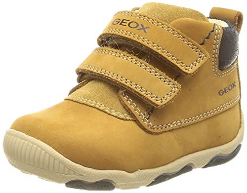 Geox B New Balu' Boy, Ankle Boot Bebé-Niños, Biscuit, 22 EU