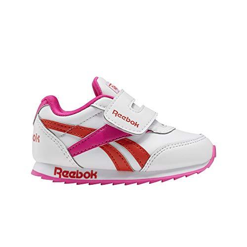 Reebok Royal CLJOG 2 KC, Zapatillas de Running, Blanco/PROUDP/CAROTE, 25.5 EU
