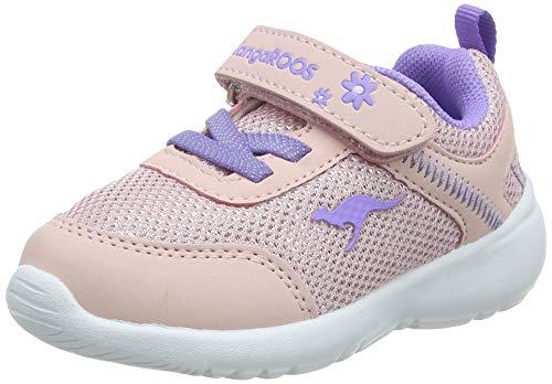 KangaROOS KC-Flight Ev, Zapatillas Niños Unisex bebé, Rojo (Frost Pink/Lavender 6014), 23 EU