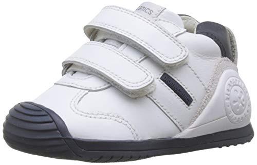 Biomecanics 151157-1, Zapatillas de Estar por casa Unisex niños, Blanco (Blanco Y Azul (Sauvage)...