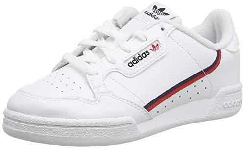 adidas Continental 80 I, Zapatillas de Deporte Unisex niños, Blanco (Ftwbla/Escarl/Maruni 000), 25...