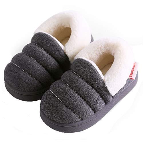 Zapatillas de Estar por Casa para Niñas Niños Otoño Invierno Zapatillas Interior Suave Casa...
