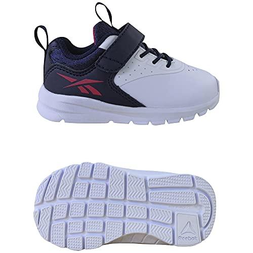 Reebok Rush Runner 4.0 Syn TD, Zapatillas de Running, FTWBLA/VECNAV/VECRED, 25 EU