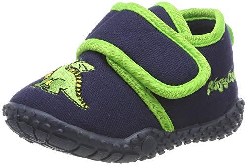 Playshoes Zapatillas Dragón, Pantuflas, Azul (Marine 11), 20/21 EU