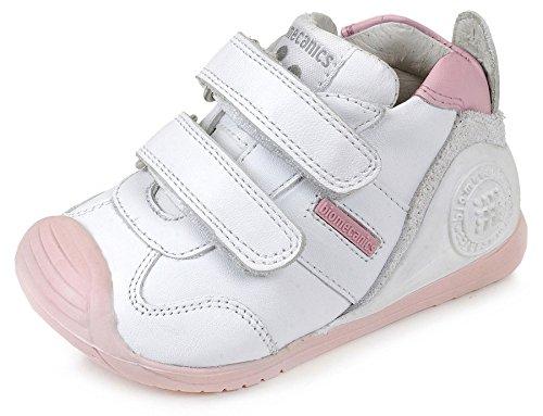 Biomecanics 151157, Zapatos de primeros pasos Unisex Bebés, Multicolor (Sauvage), 19 EU