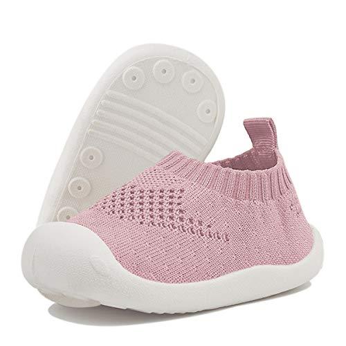 DEBAIJIA Bebé Primeros Pasos Zapatos 1-4 años Niños Niñas Infante Suave Suela Antideslizante...