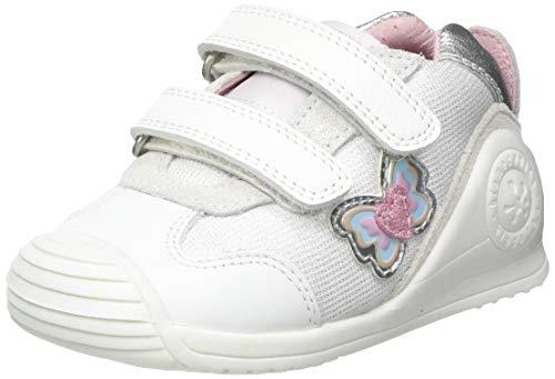 Biomecanics 212122-B, Zapatillas para Bebés, Blanco (Sauvage 2 Y Textil), 19 EU