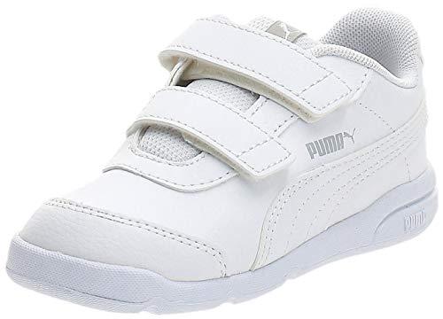 Puma - Stepfleex 2 SL Ve V Inf, Zapatillas Unisex Niños, Blanco (Puma White-Puma White 01), 27 EU