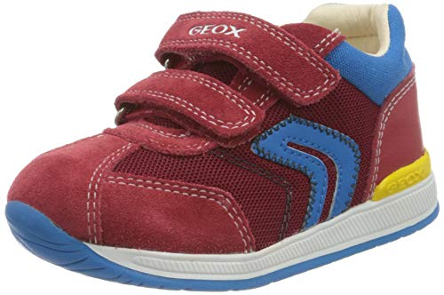 Geox B Rishon Boy B, Zapatillas Bebé-Niños, Rojo (Red C7000), 18 EU