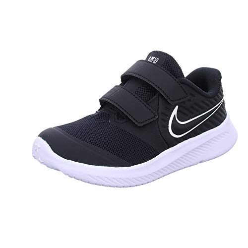 Nike Star Runner 2 (TDV), Zapatillas de Gimnasia Unisex niños, Negro (Black/White/Black/Volt 001),...