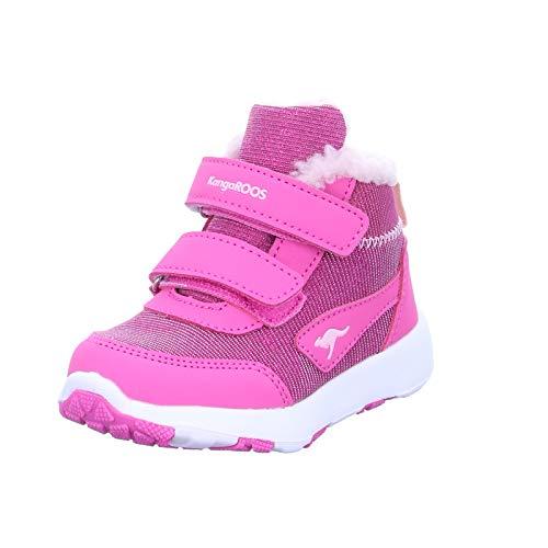 KangaROOS Snowdrifter, Zapatillas Niños Unisex bebé, Violett (Daisy Pink/Frost Pink 6151), 25 EU
