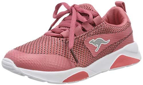 KangaROOS K-Teca, Zapatillas Unisex Adulto, Pink (Dusty Rose/White 6100), 37 EU