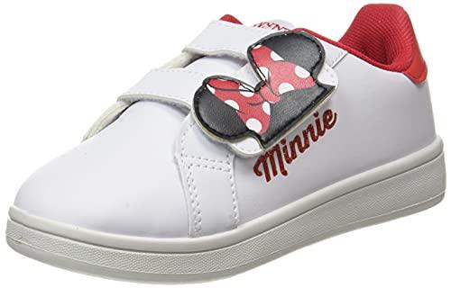 CERDÁ LIFE'S LITTLE MOMENTS Cerdá-Zapatillas Deportivas Minnie Mouse de Color Blanco, Niñas, 26...