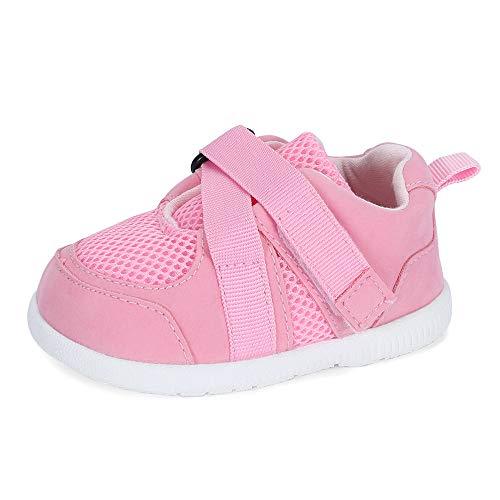 LACOFIA Zapatos Primeros Pasos Infantil Zapatillas de Deporte Transpirables con Suela de Goma...
