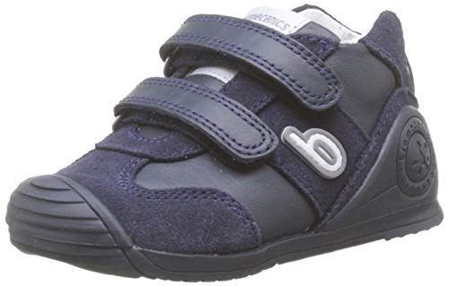 Biomecanics 191165-1, Zapatillas de Estar por casa Unisex niños, Azul (Azul Marino (Sauvage)...