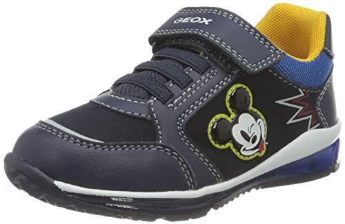 Geox B Todo Boy B, Zapatillas Bebé-Niños, Azul (Navy), 23 EU