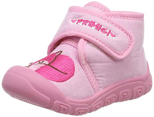 Primigi Pys 44451, Zapatillas de Estar por casa Niñas, Rosa (Rosa 4445111), 20 EU