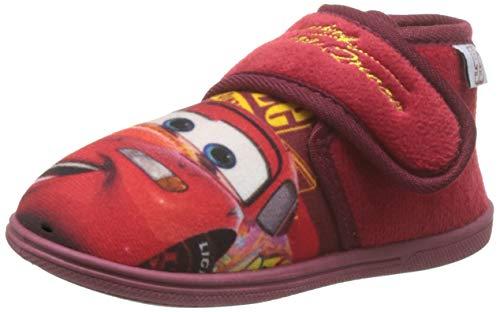 Cerdá Zapatillas De Casa Media Bota Cars 3, Niño, Rojo (Rojo C06), 23 EU