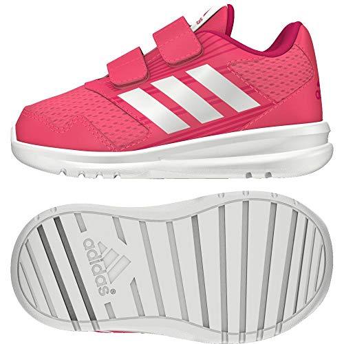 Adidas Altarun CF I, Zapatillas de Estar por casa Unisex niños, Rosa (Rosrea/Ftwbla/Bayint 000), 21...